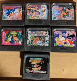Game Gear Games Sonic 1&2, 2 Disney illusions, Ariel for Sale in Oak Park,  IL