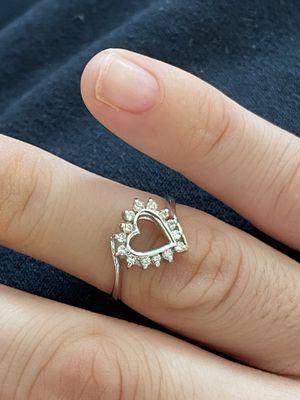 18k white gold diamond ring! for Sale in Lodi, NJ