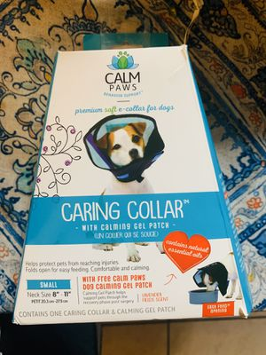 Soft Dog Cone (Caring Paws) Small for Sale in San Diego, CA