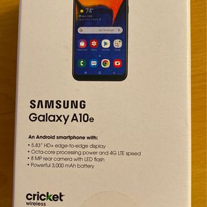 New Never Used SamSung A10E (Cricket wireless) for Sale in Westminster, CA