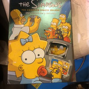 Complete 8th season - The Simpsons for Sale in Severn, MD