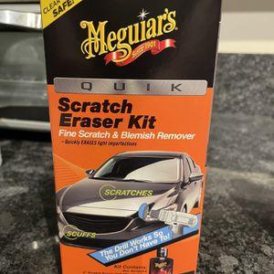 Meguiar's Car Scratch Eraser Kit for Sale in Seattle, WA