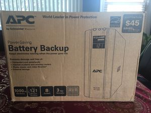 APC battery backup, external storage, keeps electronics running when power goes out for Sale in Arlington, VA