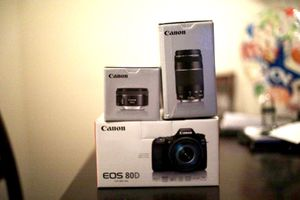 Canon 80D with lenses for Sale in Arlington Heights, IL