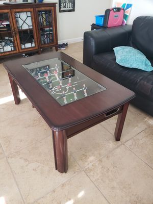 Foosball coffee table for Sale in LAUD BY SEA, FL