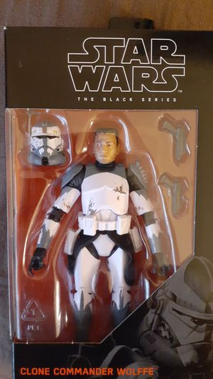 Star wars black series clone commander wolffe mib RARE for Sale in Goodyear, AZ