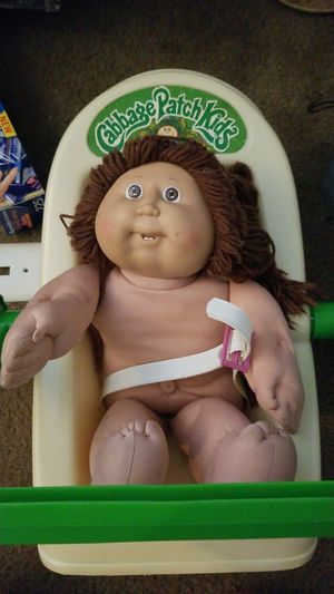 Original Cabbage Patch doll and car seat carrier for Sale in Lexington, KY
