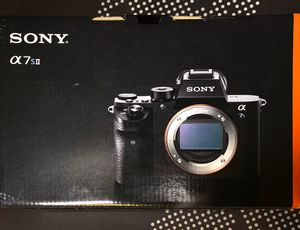 Sony a7s ii Mirrorless 4K Camera, 5 axis stabilization for Sale in Fort Worth, TX
