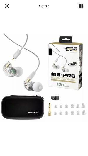Premium earphones m6-pro for Sale in Riverside, CA