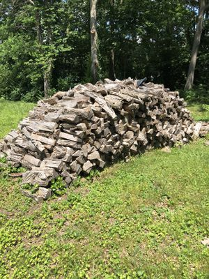 Firewood split and seasoned hickory and oak for Sale in Edwardsville, IL
