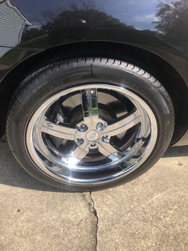 Huntington Alloy 20 inch 5x120 Wheels.