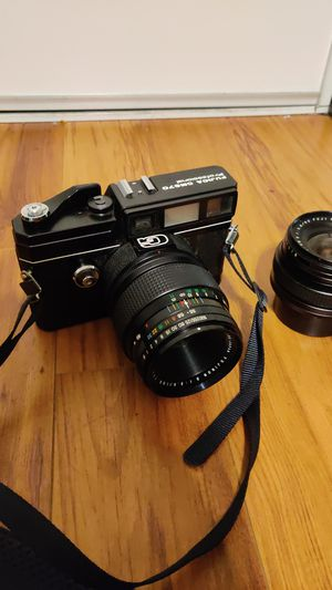 Fuji Fujica GM670 w 100mm and 50mm elns for Sale in Glendale, CA
