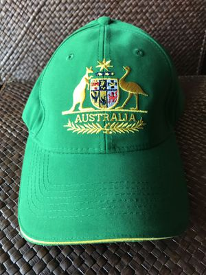 Brand new Australia baseball cap, tags and bag included for Sale in Silver Spring, MD