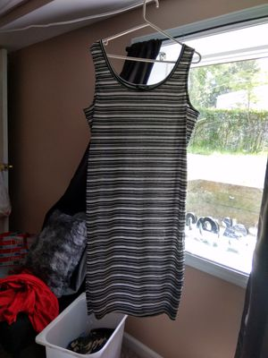 *like new woman spring/summer black/ white dress size 2x* for Sale in Lawrence Township, NJ