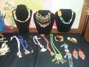 Native American beaded jewelry lot for Sale in Northumberland, PA