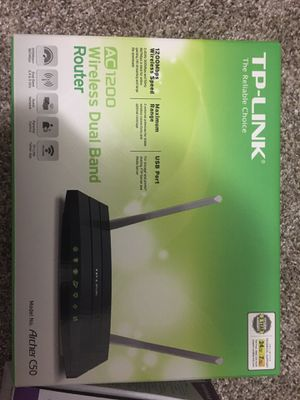 Router TPlink and modem NETGEAR for Sale in Columbia, MD
