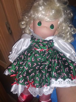 Precious moments doll and chair for Sale in Phoenix, AZ