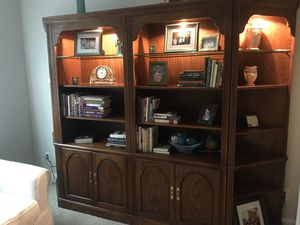 Solid Oak Bookshelves for Sale in Mooresville, NC
