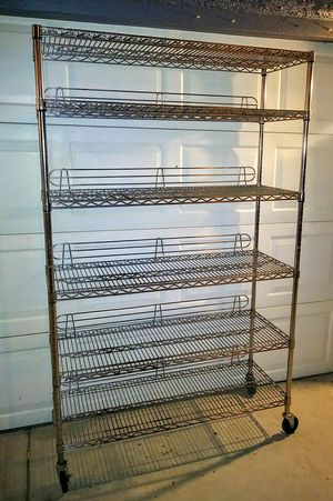 Stainless Cart on Wheels for Sale in North Las Vegas, NV