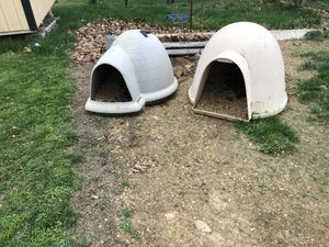 Igloo dog boxes ! for Sale in Grottoes, VA
