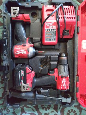 Milwaukee 18v fuel impact n drill for Sale in Portland, OR