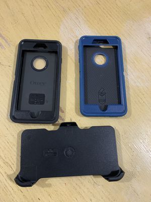 Otter boxes cases for iphone 8 plus, for Sale in Gaithersburg, MD