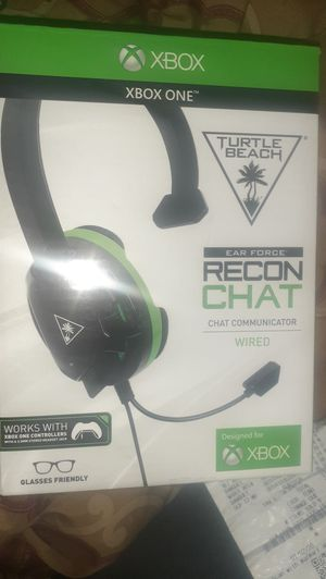 Turtle Beach XBOX ONE chat headset for Sale in Mesquite, TX