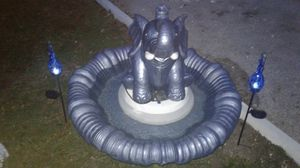 Elephant fountain for Sale in Lake Wales, FL