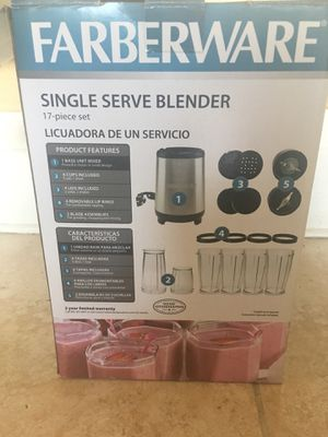 Farberware 17pc single serve blender for Sale in Oakland, CA