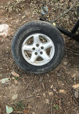 4 Jeep Cherokee tires with rims for Sale in Gap, PA