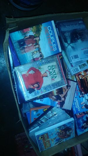 Over 100 dvds with cases for Sale in Marion, OH