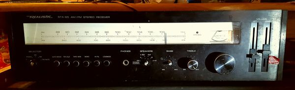 Realistic. STA-85 AM/FM STEREO RECEIVER