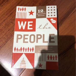WE THE PEOPLE 12th Essential Edition for Sale in Berkeley, CA