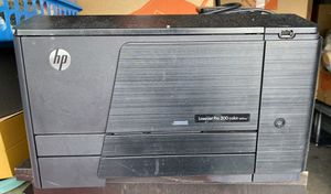Laser jet pro 200 color m251nw with colored ink for Sale in Miami, FL