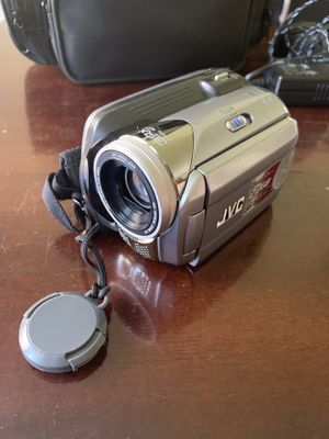 JVC hard disk camcorder for Sale in Chicago, IL