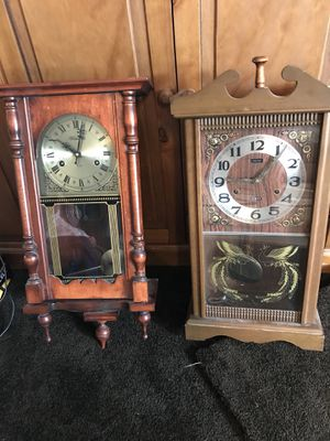 8 Day antique clocks. $250.00 each for Sale in Spartanburg, SC