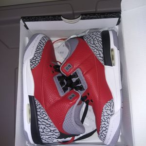 Brand New Retro 3 Jordan's - Youth Size 4 for Sale in Raleigh, NC