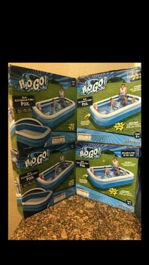 """BRAND NEW INFLATABLE SWIM CENTER FAMILY LOUNGE POOL, 103""""X69""""X20"""" FIRM $35 EACH for Sale in Fontana, CA"""