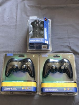PlayStation 2 PS2 controller Logitech wireless Brand New for Sale in Glendale, CA