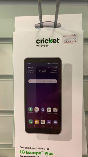 LG escape plus screen protector for Sale in Menomonie, WI