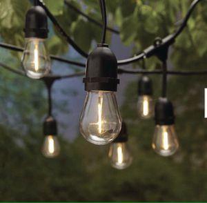 MAJOR RESTOCK! 48ft LED Commercial Heavy Duty Shatterproof String Lights (Brand New) for Sale in San Dimas, CA