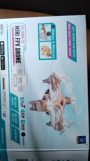 mini fpv drone cx-10wd-tx for Sale in Davie, FL