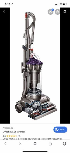 Dyson dc 28 animal with air muscle bagless Vacuum for Sale in Huntsville, AL