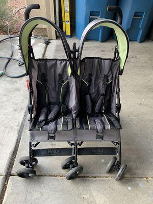 Delta side by side double stroller for Sale in Las Vegas, NV