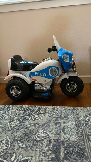 POLICE tricycle power wheel works!!!! for Sale in Portland, OR