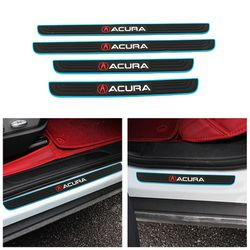 BRAND NEW 4PCS ACURA BLUE RUBBER DOOR SILL SCUFF UNIVERSAL for Sale in City of Industry,  CA