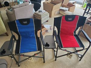 Outdoor folding chairs for Sale in Rockville, MD
