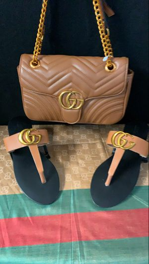 Purse and Sandals for Sale in Tampa, FL