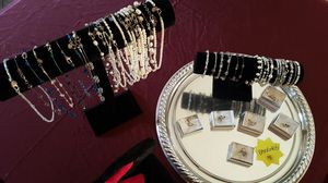 Freshwater Pearl and Swarovsky Crystal Silver Jewelry For Sale for Sale in Concord, CA
