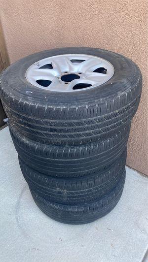 Free wheels and tires for Sale in Hemet, CA